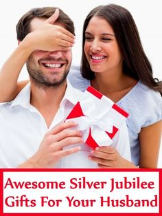 5 Awesome Wedding Anniversary (Silver Jubilee) Gifts For Your Husband 25th Wedding Anniversary, Anniversary Gifts, Gifts For Husband, Make It Yourself, Awesome, Happy, Celebrations, Silver, Gift Ideas