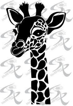 0526_Vector Giraffe AnimalsDownload filesDigital