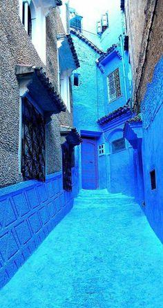 La ville bleu Chafchaouen     Morocco (Mon pays)