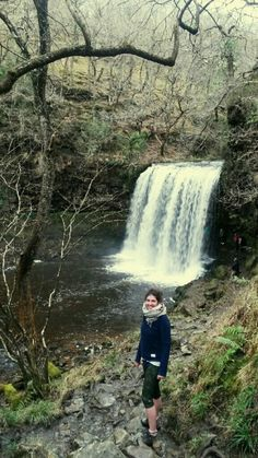 If you've never walked behind a #waterfall, you should so visit Sgwd yr Eira waterfall in the southern Brecon Beacons - it's awesome!