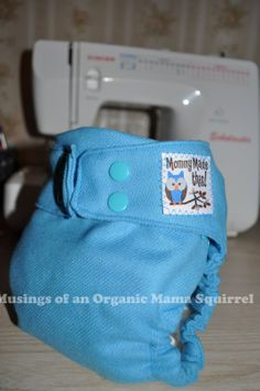 Wool diaper cover made with snaps www.KAMsnaps.com