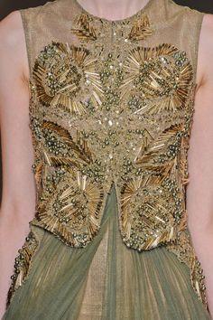 Basil Soda Haute Couture F/W 2012 - details