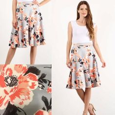 Alyssa Circle Skirt – Epiphany Blu by Kayla Wentz