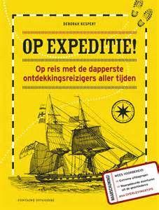 Reis met Marco Polo naar Azië en met Abel Tasman naar de Grote Oceaan. Volg de avonturen van 21 bekende ontdekkingsreizigers. Met overlevingstips, tijdlijnen en illustraties in kleur en zwart-wit. Vanaf ca. 9 t/m 12 jaar