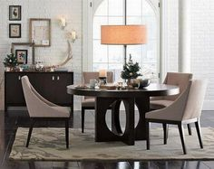 Interior:Astounding Contemporary Piece Dining Set Designs  With White Chairs And Cool Pendant Lamp As Well As White Rugs Astounding Contemporary Piece Dining Set Designs