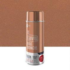 Peinture aérosol Relook tout métallisé MAISON DECO, cuivre, 0.4 l | Leroy Merlin