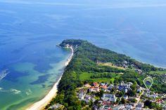 #Göhren auf der Insel #Rügen aus der Luftperspektive