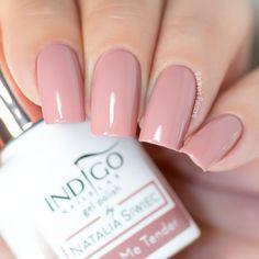 Cute Acrylic Nail Designs, Cute Acrylic Nails, Glue On Nails, Gel Polish Colors, Nail Colors, Nail Polish, Indigo Nails, Vernis Semi Permanent, Nail Art Blog