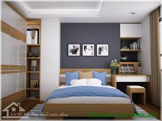 phòng ngủ tươi sáng