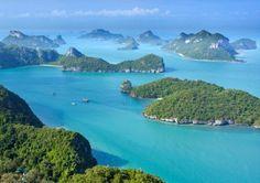 Férias em Ko Samui, na Tailândia Chiang Mai, Ko Samui, Thailand, Places, Water, Outdoor, Health Insurance, Summer Vacations, Travel Guide