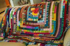 Blij dat ik brei: 10 steken deken (met link naar patroon)