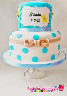 baby cake- baby showers tarta para bebes idea bautizos - tarta bautizo niño