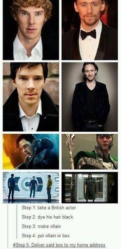 Oh! Benedict has curly hair! Hi ben! Hi! Oh yeah hi to you too Tom