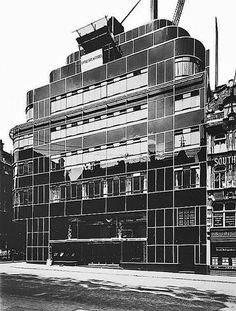 The former Express Building on Fleet Street; still one London's finest examples of Art-Deco architecture