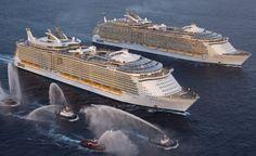 Het grootste cruiseschip ter wereld