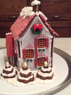 2014 gingerbread house.