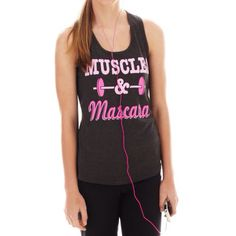 Super cute tank-top for a day at the gym!