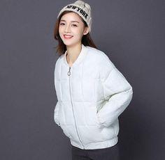 PLAMTEE Winter Women Parka Brief Slim Stand Collar Keepwarm Jacket 2017 Solid Outerwear Parkas Overcoat Female Padded Casacos