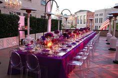 passion for purple....