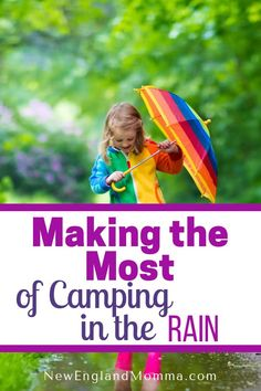 How to Make the Most Of Camping in the Rain Camping in the rain can be done! With a little planning ahead for the weather, you and your family can still have an awesome time making memories outdoors! Camping In The Rain, Camping With Kids, Camping Life, Camping Meals, Family Camping, Travel With Kids, Outdoor Camping, Camping Hacks, Camping Items