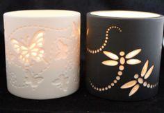 Porcelain Tea Light Holders!!