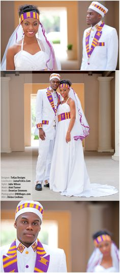 Planning Your Wedding Makeup Look African Wedding Attire, African Attire, African Wear, African Women, African Dress, Style Afro, Informal Wedding Dresses, African American Weddings, African Weddings