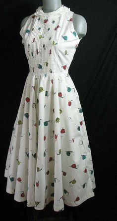 Snail Dress....I dont know I think this is cute...I guess it's cus I love dresses.