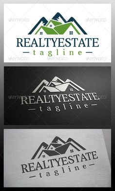 Mountain House  Logo Design Template Vector #logotype Download it here:  http://graphicriver.net/item/mountain-house-logo/6147652?s_rank=135?ref=nexion