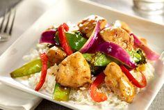Turkey Teriyaki & Veggie Stir-Fry