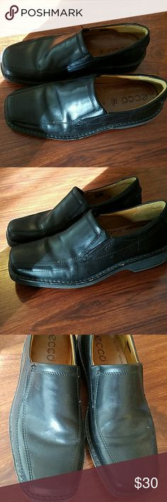 ECCO Men's slip on dress shoes size 9 (42) EUC . Ecco Shoes Loafers & Slip-Ons