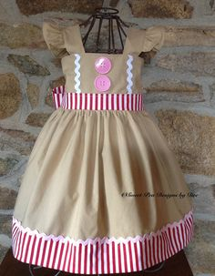 Hey, I found this really awesome Etsy listing at https://www.etsy.com/listing/475657511/girls-gingerbread-dress-girls-christmas