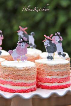 Pastelitos de Layer cake.