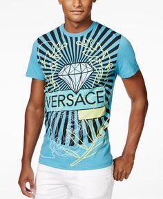 Versace Men's Diamond Pillar T-Shirt