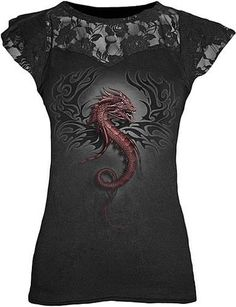 I found 'Roar of the Dragon Ladies Top' on Wish, check it out!
