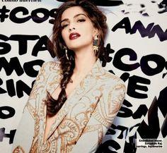 Sonam Kapoor Hot Photoshoot for Cosmopolitan Magazine | Bollywood Xp