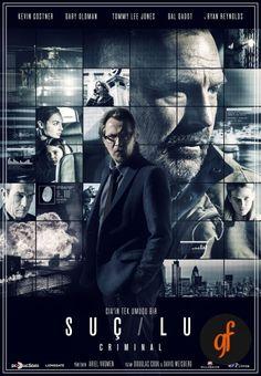 2016 yapımı Amerikan filmi olan Suçlu yani Criminal; Aksiyon, Dram, Suç ve…