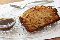 Caramel Apple Amish Friendship Bread with Caramel Glaze