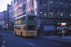 Trongate, Glasgow on December (Pic: Guy Arab UF) Take The High Road, Glasgow Scotland, December 7, Coaches, Buses, Cities, Photographs, Guy, Building