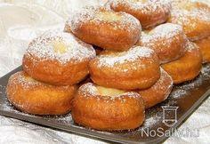 Farsangi fánk Hungarian Cuisine, Hungarian Recipes, Hungarian Food, Sweet Life, Baby Food Recipes, Food Baby, Pretzel Bites, Doughnuts, Cake Cookies