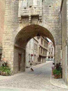 Noyers-sur-Serein, Bourgogne Ville France, Beaux Villages, Rues, France Europe, House Landscape, Aquitaine, Alsace, Photos Du, Monuments