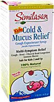 Similasan Kids Cold And Mucus Relief™ Cough Expectorant Syrup