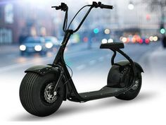 Harley Style Electric Cars Motorbike Bike Smart Big Wide Tires Fat Boy 1000W 60V