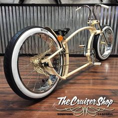 Downtown Campbell: Rear shot of the Smyinz with gold leaf we posted pics of a few weeks ago... Getting close. #thecruisershop #cruisershop #ruffcycles #smyinz #cruisershop #whitewalls #tittybars #oldschool #mooneyes #goldleaf #pinstriping #cruisershopbuilt #cruisershopstyle #og #downtowncampbell #shinysideup2016 #original #details by thecruisershop