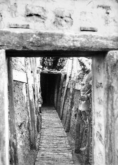 Vues de la région fortifiée de Verdun et du saillant de Saint-Mihiel en janvier 1916. – ECPAD