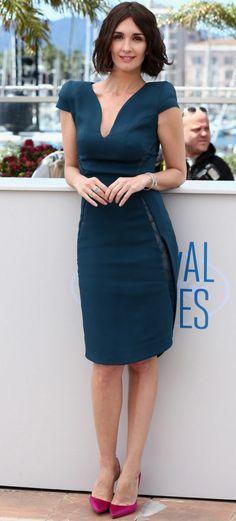 Paz Vega Wearing Zuhair Murad - Cannes 2014