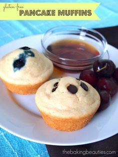 Gluten Free Pancake Muffins | The Baking Beauties