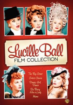 Lucille Ball Film Collection DVD | Classic Films & Movies on DVD & Video | TCM Store