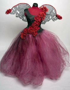 fairy+clothes   Tattered Rose Fairy Dress Costume Made to by Deconstructress on Wanelo