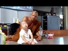 Young Monk can't stay Awake