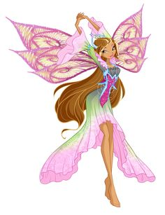 Winx Club Flora Tiefix by Forgotten-By-Gods on DeviantArt